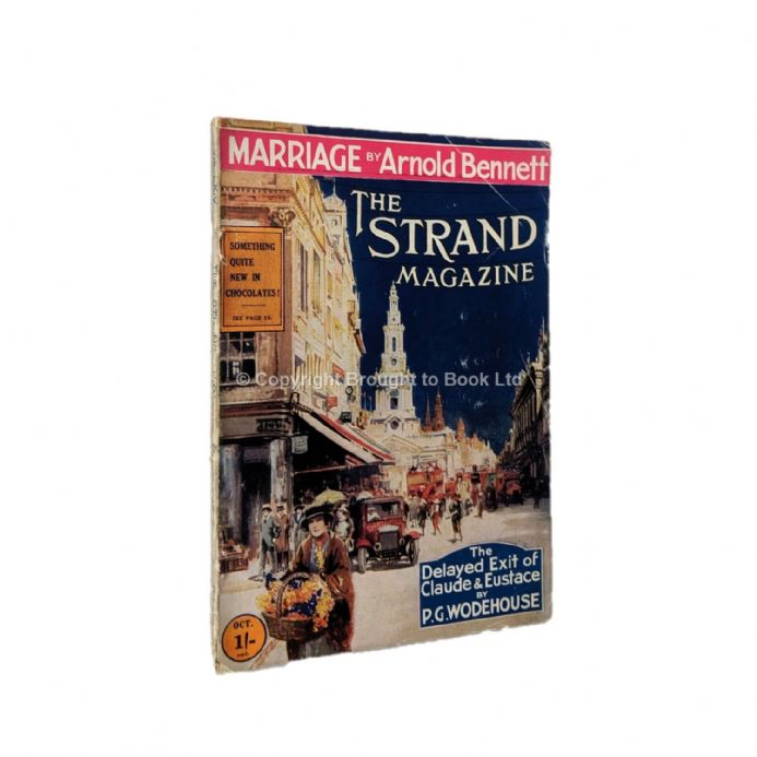 The Strand Magazine 382 October 1922 P.G. Wodehouse  Arnold Bennett Ian Hay & W. Somerset Maugham